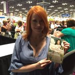 .@RichelleMead signs copies of #Soundless for fans at #BEA15! http://t.co/pEDbOrZWnl