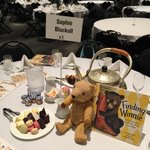 Whos coming to tea? #BEA15 @lbkids #FindingWinnie @SusanmRich @lindsaymattick http://t.co/Znu7iNKZf0