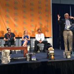 Middle Grade Characters & Adventures panel at #BEA15! Incredible group of authors here at the Uptown Stage. http://t.co/4nYILwygQ2