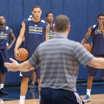 Coach J lead pre-draft workouts earlier today. More #BTS pics coming soon to http://t.co/ErnhORfT3Z http://t.co/auOTRYED9Z