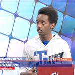 19 year old Ian Waiguru runs his own company besides school. He speaks to Larry now. #theTrend http://t.co/PcsERbyF9u