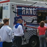 The #RangersTownIce Truck is in front of the @Chase Office on Park Ave (b/t 47th and 48th). Come get your free ice! http://t.co/zwc8rzMecW