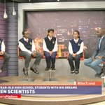 Nerds Alert! They are in the studio right now with Larry Madowo! #theTrend http://t.co/3lmDiJkhiB