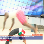 9 year old Huruma girl who counts presidents among her fans shows off her skills on the show. #theTrend http://t.co/ZrtAsMs6tr