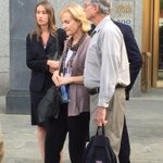 The pained Ulbricht family outside the courthouse after life sentence in #SilkRoad trial http://t.co/6zep2F7oCW