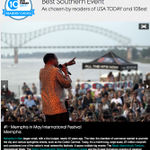 """Congrats to @memphisinmay on being named """"Best Southern Event"""" by @USAToday @10Best! -> http://t.co/eqZEibY38W http://t.co/aR9aTLUEO2"""