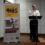 Inaugurando el @festival_mas organizado por @movpuente y People in Need (Rep Checa) en alianza con @UEenNicaragua http://t.co/BM2GBwkeac
