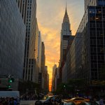 Another shot of the failed #Manhattanhenge lovely evening though! #photography http://t.co/7fKtRCSPUQ