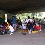 #성남시 #탄천 에는 참사랑복지회에서 가족 걷기 대회가 진행되고 있습니다. http://t.co/eeZLEB4ulA