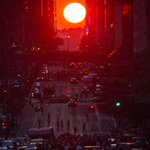 New Yorkers, get yourself to the nearest cross streets as #Manhattanhenge 2015 starts tonight http://t.co/uJQhi7cuMv http://t.co/wBBfrGjQc0
