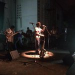 Ambolley on stage now....about to begin #AmbolleyAlbumLaunch #alliancefrancaiseaccra http://t.co/4YYE0jsPfQ