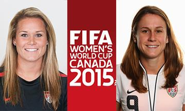 Get to know #USWNT's @Ashlyn_Harris & @HeatherOReilly before the upcoming @FIFAWWC http://t.co/R2d1WuHvlW #TeamWass http://t.co/uWZUeOPQz4