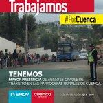 #PorCuenca Presencia en las parroquias rurales. @aaguilar_EMOVEP @CholaCabrera @MunicipioCuenca @complicefm @WRadioec http://t.co/Z9HlpOg1k2