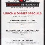 Our Weekend Lunch & Dinner Specials! @DowntownVentura @VisitVCWest @VisitVentura #ventura #oxnard @vcseats @VCSoCal http://t.co/zuKH5RF9w7