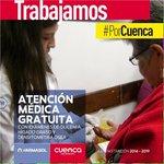 Brindamos atención médica gratuita #PorCuenca @MunicipioCuenca @CholaCabrera http://t.co/GTX17zQ6RE
