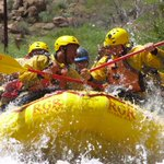 Just finished our warm up event before the mountain tomorrow. Had a blast white water rafting on the Arkansas River. http://t.co/4oveGDqOOw
