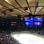 #TheGarden is filling up with @NYRangers fans! Tweet & tag your fellow #blueshirt fans if youre here! #LGR #NYR http://t.co/VO0cTdziqY