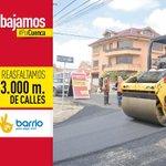 Asfaltamos mas de 23.000 metros de vías, mejorando la movilidad. @MunicipioCuenca @CholaCabrera #PorCuenca http://t.co/Rewhdqo1do
