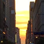 Nothing but clouds for todays #Manhattanhenge in #NYC #mashhenge #huffpostsunset http://t.co/n9rDVi5wI9