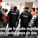 #Cuenca > Agente de tránsito implicada en robo recibe pena de dos años- http://t.co/USZZZxrC4M vía @eltiempocuenca http://t.co/cxJQwAL93s