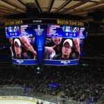 Welcome @realmikefox to #TheGarden to cheer on the @NYRangers! #LGR http://t.co/3QlebYnvnn