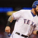 All of the feels. Josh Hamilton just hit his first homer of the season. Follow live here. http://t.co/mfgBXrRer4 http://t.co/ss81UmQoor
