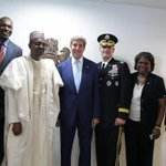 John Kerry & other US officials in group photo with President Buhari (photos), read at http://t.co/AkZoRcZl64 http://t.co/VDsGNgreU7