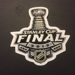 Official jersey patch for the 2015 #StanleyCup Final 👇 http://t.co/VTMIZWdACd