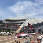 本日16時より、ホームのノエビアスタジアム神戸にて仙台と対戦!今日も神戸はいい天気!気温もグングン上昇中ですので、体調管理には十分ご注意下さいね。楽しいイベント盛り沢山で、皆様のご来場をお待ちしています!#神戸vs仙台 #vissel http://t.co/bUpsbf4pjL