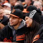 Steph Curry prepares for NBA Finals by attending Giants game. http://t.co/BNDLnkW0WI