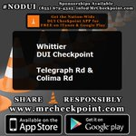 http://t.co/HFiJq2suPf NOW #LosAngeles DUI Checkpoint #Whittier Telegraph Rd & Colima Rd #NODUI #LA #SoCal http://t.co/msHRqvBcWp