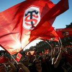 BOOOONJOUUUUR!   Aujourdhui on prend le quart pour aller à Bordeaux!   ALLEZ LES GARS! ALLEZ LE STADE!  👊👊👊   #STUSO http://t.co/UKJdjzG4Vc