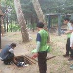 #성남시 희망대공원의 화장실을 보수하였습니다. 쾌적한 공원을.위해 오늘도 화이팅~!! @seongnamcity @Jaemyung_Lee http://t.co/u3hTBZNyHR