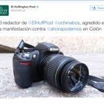 Agredido @ochinabos el redactor de @ElHuffPost en la mani de #nopodeis http://t.co/BNrmfzuYNg