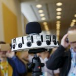 #GoPro and #Google introduced a virtual reality system using 16 cameras and Google #software. http://t.co/p5plpQWqFM http://t.co/pgelcAgSsd