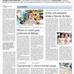 El Epicentro de la Innovación Educativa se llama #Edutopia15, hoy en @periodicoaragon http://t.co/2wAPGqLwiZ