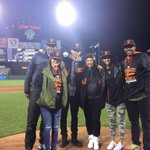 Big thanks to @StephenCurry30 and his family for bringing the electricity to AT&T park tonight. http://t.co/7V7z8EwLxU
