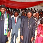 #Memories. Homecoming Reception for Fmr President Jonathan, Yenagoa, May 29. #CountyourBlessings. http://t.co/DN1PitcxUp