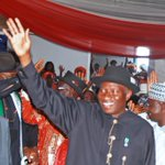 #Memories. Homecoming Reception for Fmr President Jonathan, Yenagoa, May 29. #CountyourBlessings. http://t.co/z8c4yxKmX6