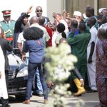 #Memories. Fmr President Jonathan leaving State House for Eagle Square, May 29. #TheLastDay #CountyourBlessings. http://t.co/pe4AIFWjTG
