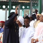 #Memories. Fmr President Jonathan leaving Eagle Square, May 29. #TheLastDay #CountyourBlessings. http://t.co/8uZTickSh5
