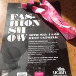 Good luck to the @UCLanfashion students at #GFW2015 today http://t.co/0PA9G8gTLa