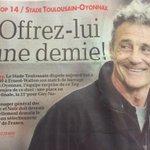 Tout est dit ! ????⚫️ #barrage #STUSO #StadeToulousain #rugby #TOP14 @StadeToulousain @LeHuit_ST @ladepeche_fr http://t.co/RC0Dl3EXGi