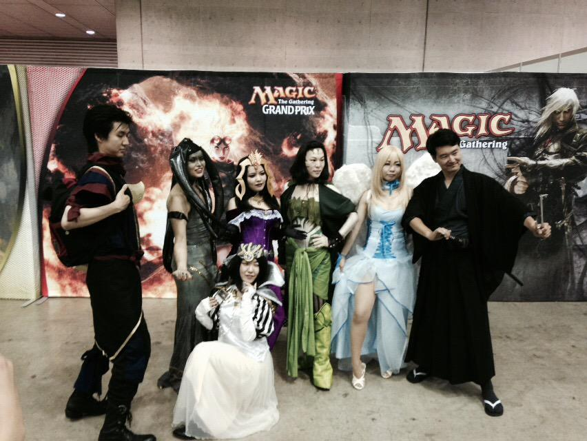 Group shot of all the cosplayers at #GPChiba : http://t.co/oAx07tau7m