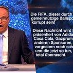 Sie hatten doch alle keine Ahnung… #FIFAgate #FIFA Zur ganzen Sendung: http://t.co/FoJGJRZICI http://t.co/yXEmP0Sze2