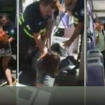 Vídeo: Dos vigilantes de FGV golpean a un joven por llevar los pantalones caídos http://t.co/0p33yitqHM http://t.co/K3Z1EJgtkH