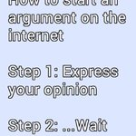 How to start an argument on the Internet... http://t.co/FpR9CCt5Rq