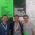 Immer weiter lernen. Heute auf dem @ProductCampPl in Danzig mit @kamilbbs @mladpanov @rado_tsvetkov #productcamppl http://t.co/3QMbLRq3jU
