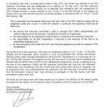 Ini Surat dari FIFA mengenai sanksi untuk P$$I http://t.co/Dj37PN24z8