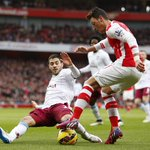 Arsenal won both their league games against Aston Villa this season by an aggregate score of 8-0. http://t.co/S72wY3KKUK